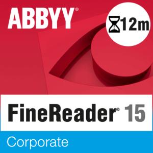 ABBYY FineReader PDF 15 Corporate – licencja czasowa