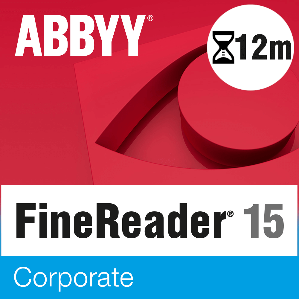 ABBYY FineReader PDF 15 Corporate – licencja czasowa