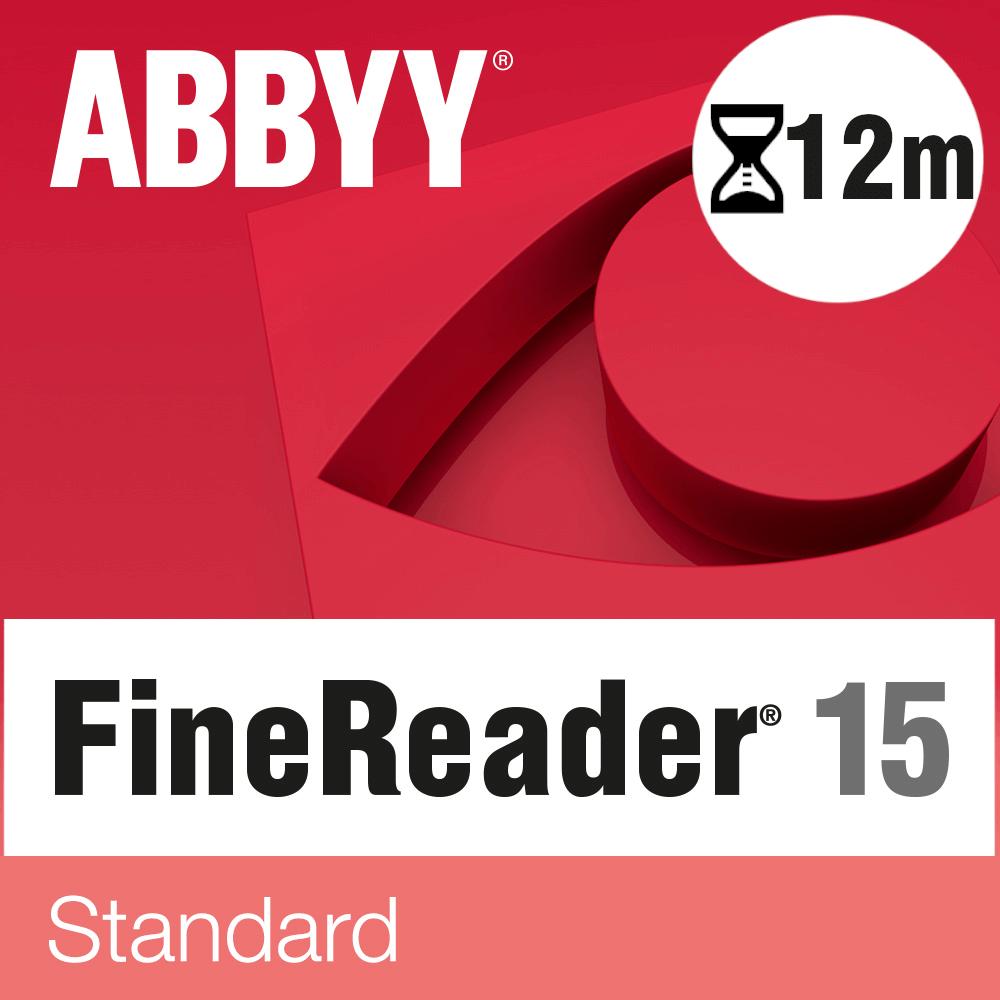 ABBYY FineReader PDF 15 Standard – licencja czasowa